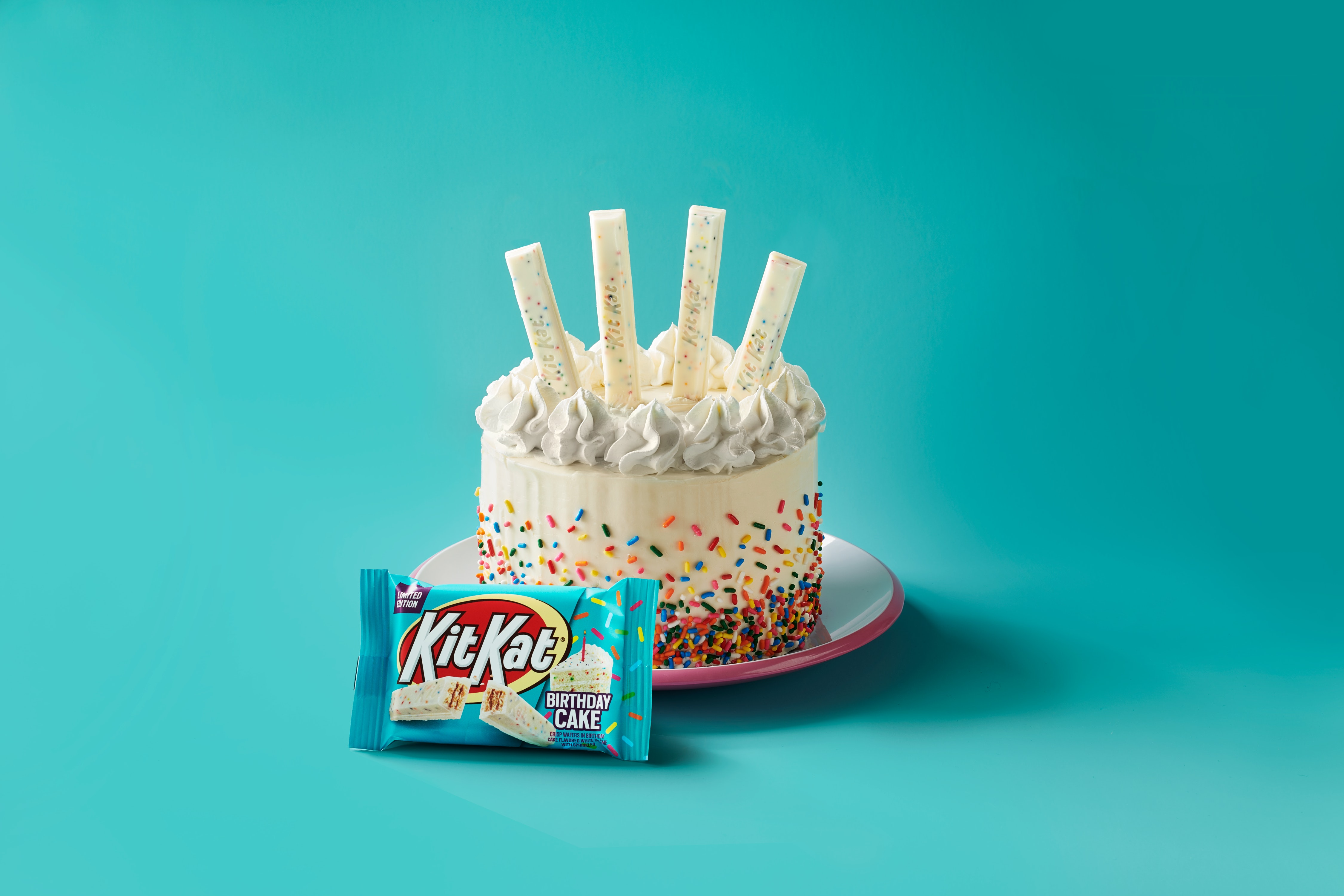 Admirable Kit Kats New Birthday Cake Flavor Is The Perfect Spring Celebration Personalised Birthday Cards Beptaeletsinfo