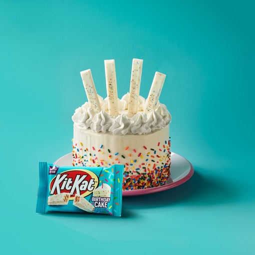 Kit Kat's New Birthday Cake Flavor is a spring treat.