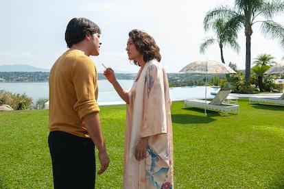 Alfonso Dosal as Benjamín Arellano Félix and Mayra Hermosillo as Enedina Arellano Félix in 'Narcos: Mexico' Season 2