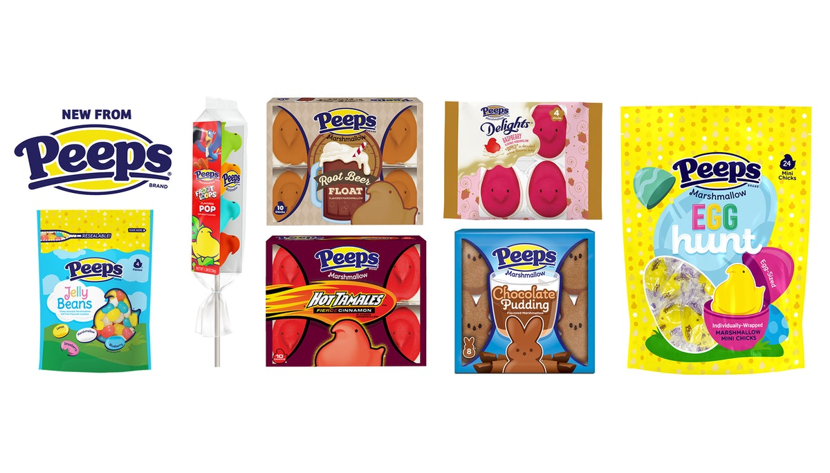 These new Peeps offerings for 2020 include fudge-covered marshmallow chicks.