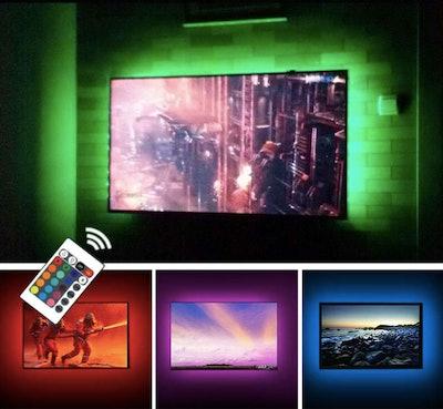 CPLID USB TV Backlight LED Strip Lights Kit
