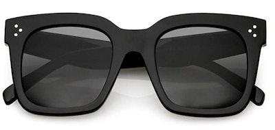 zeroUV Retro Oversized Square Sunglasses