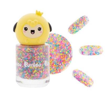 Puttisu Glitter Nail Polish in Pink Candy Pangpang