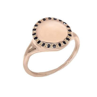 Diamond Signet Ring 14K