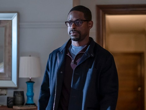 """THIS IS US -- """"Lights and Shadows"""" Episode 410 -- Pictured: Sterling K. Brown as Randall -- (Photo by: Ron Batzdorff/NBC)"""