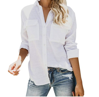 Runcati Women's Button Down