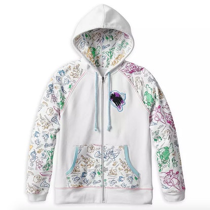 Disney Ink & Paint Zip Hoodie for Women – Disneyland