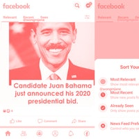 Facebook is quietly playing around with the News Feed design again