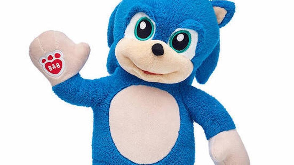Sonic The Hedgehog Build-A-Bear