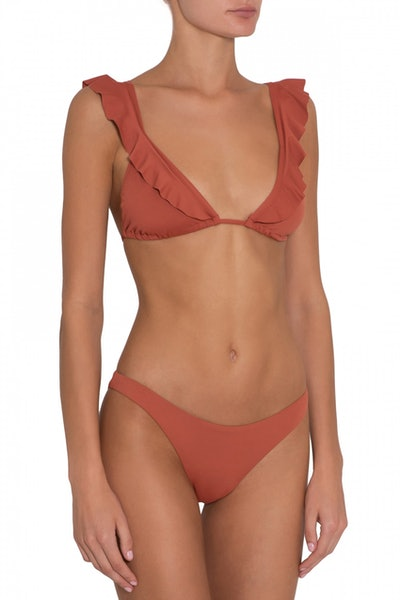 So solid grayson bikini top