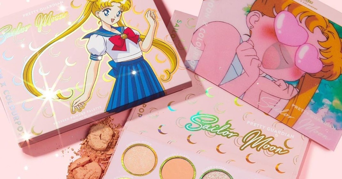 Sailor Moon Fans Are Going To Go Wild Over ColorPop's Latest Collection