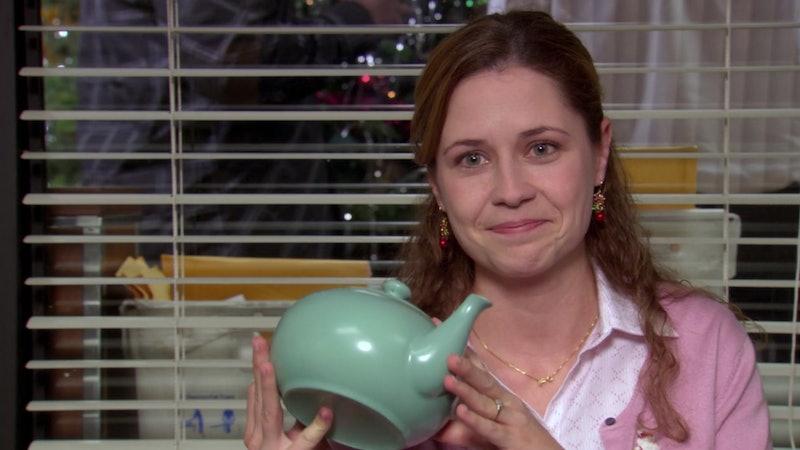 Jenna Fischer 'The Office' teapot