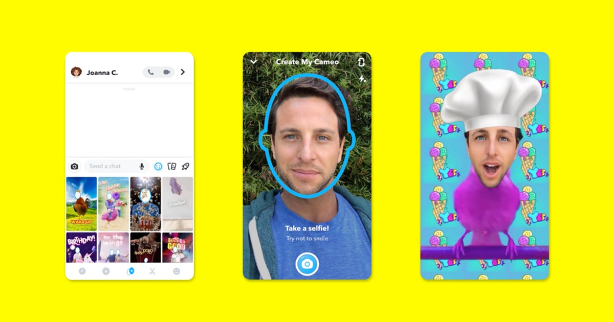Here's How You Can Use Cameo On Snapchat To Make Hilarious Vids