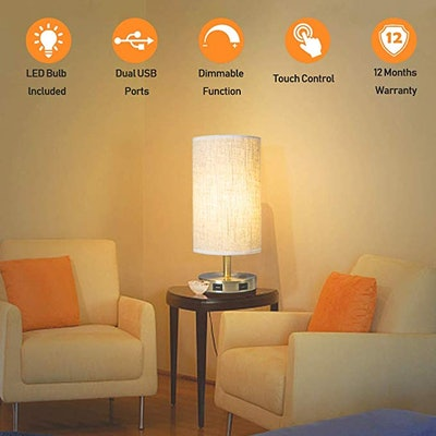 Focondot Touch Control Table Lamp
