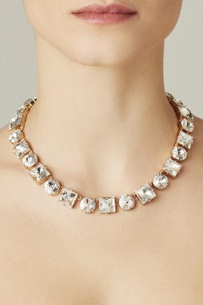 Ninon Anna Diamond Crystal Necklace