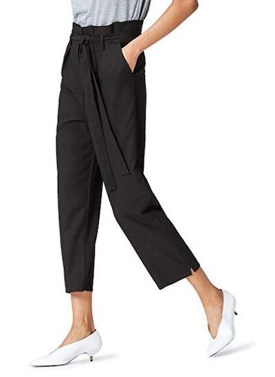 Amazon Brand - find. Women's High Waist Paperbag Pants