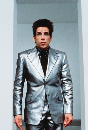 Harry Styles' sparkly Copenhagen suit looked like this shiny number worn by Derek Zoolander