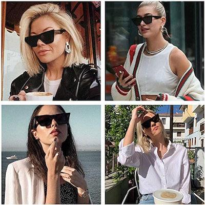 Mosanana Square Cateye Sunglasses