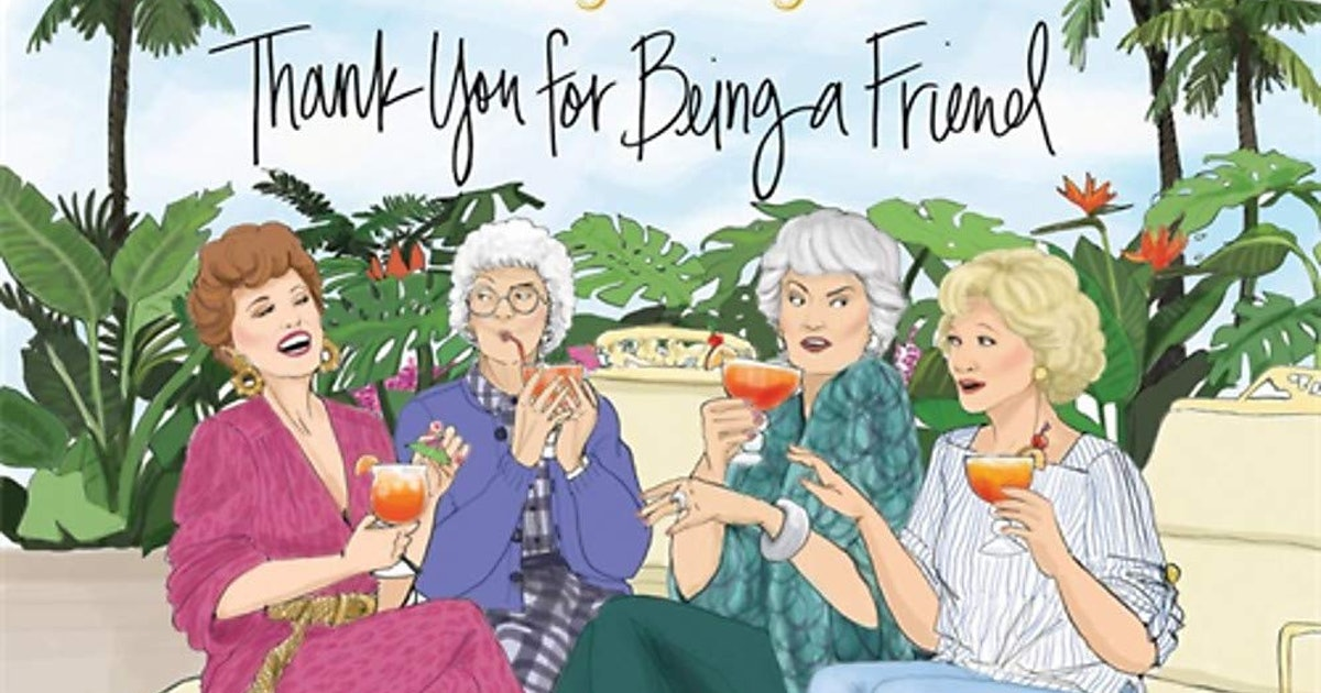 Thank Your Bestie For Being A Friend With This 'Golden Girls' Picture Book