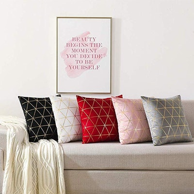 NordECO HOME Throw Pillow Covers (2 pack)
