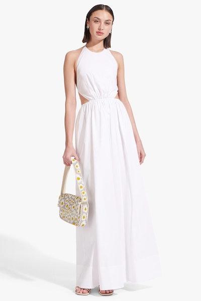 Apfel Dress / White