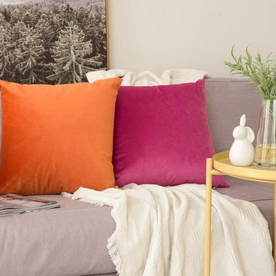 MIULEE Velvet Throw Pillow Covers