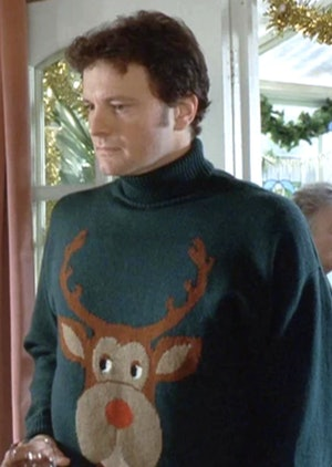 Harry Styles' knitwear style clearly pays homage to Bridget Jones' Mark Darcy