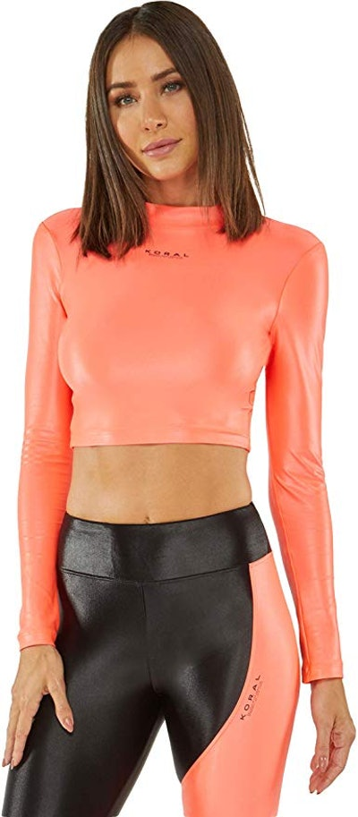 Activa Infinity Long Sleeved Crop Top