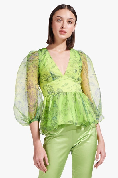 Luna Top / Feather Tree Green