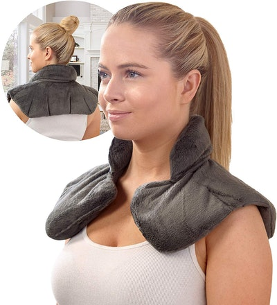 Hot & Cold Herbal Aromatherapy Neck Wrap by Sharper Image