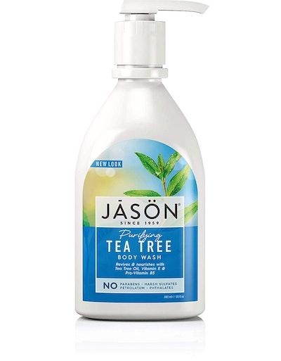 JĀSÖN Natural Purifying Tea Tree Body Wash and Shower Gel
