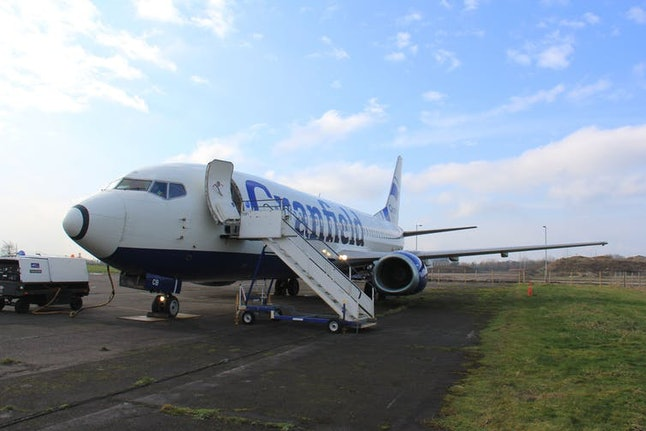 This Boeing 737 is used for research at Cranfield University. Small aircraft like this are the mainstay of smaller airports, and likely to be the most affected by climate change.
