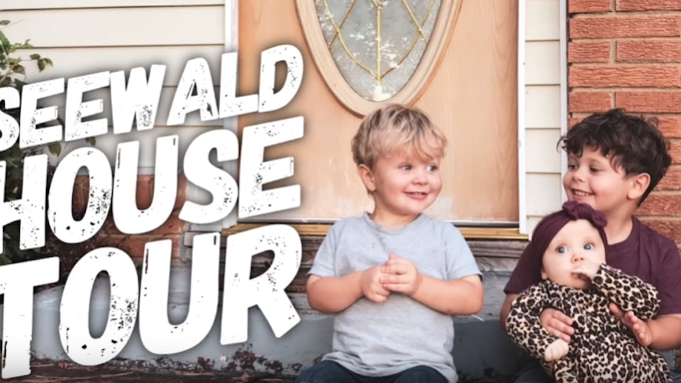 """Jessa Seewald gave a """"real life"""" tour of her house with her three kids in tow."""
