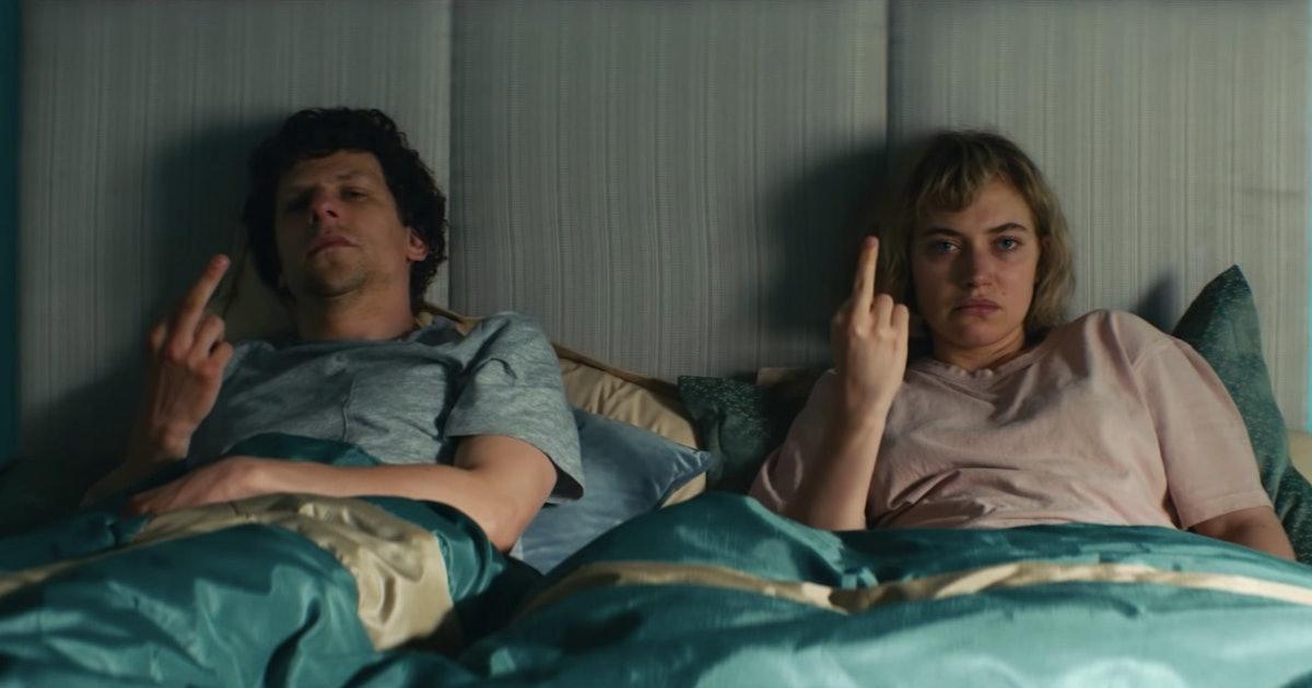 Jesse Eisenberg's new movie 'Vivarium' looks like a trippy cult classic
