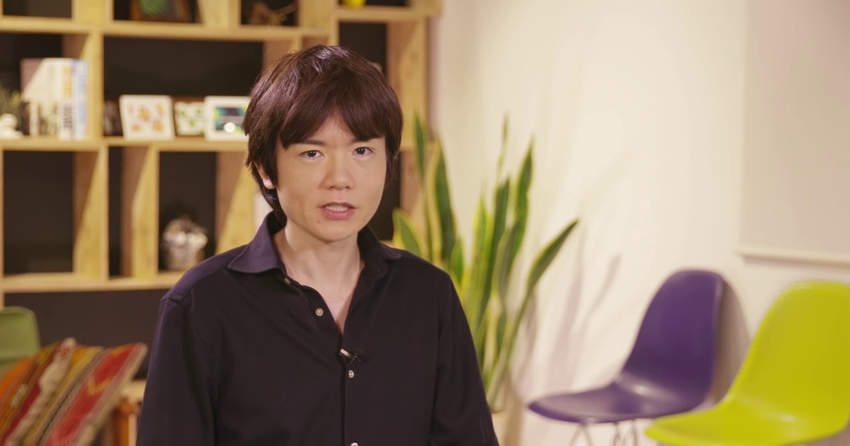 'Smash Ultimate' director Sakurai just dropped a major Switch Pro release date clue