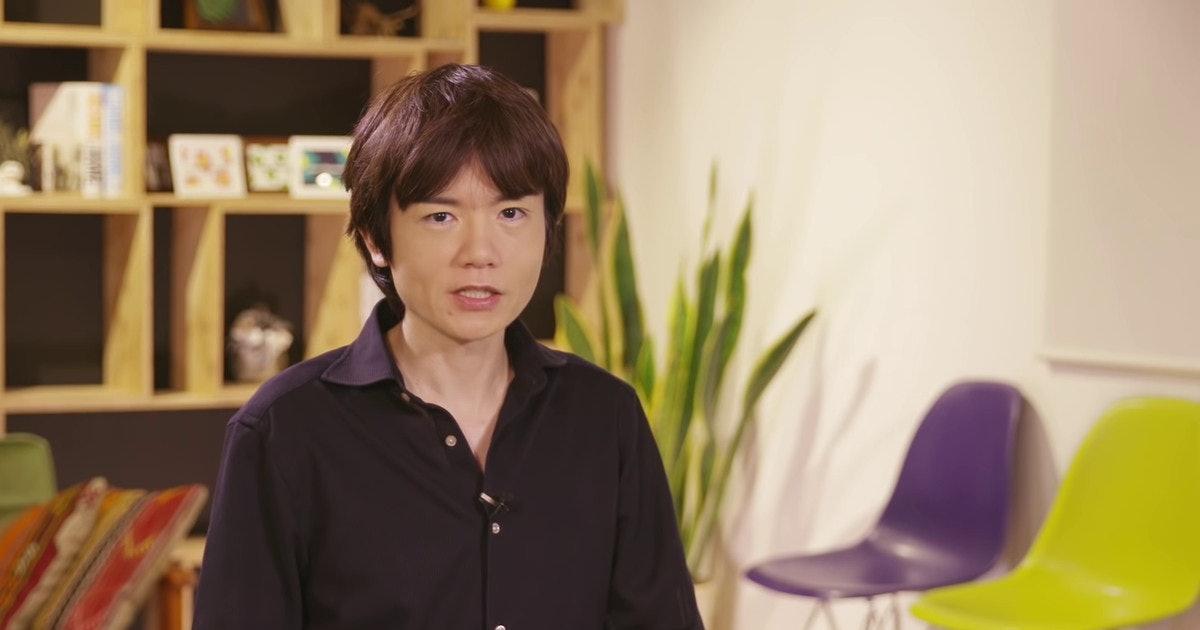 'Smash Ultimate' director Sakurai just dropped a major Switch Pro release date clue - Inverse