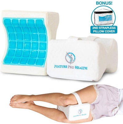 Posture Pro Health Memory Foam Orthopedic Knee Pillow