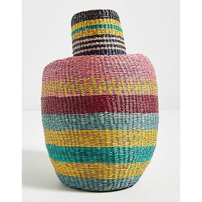 Kaleidoscope Seagrass Basket