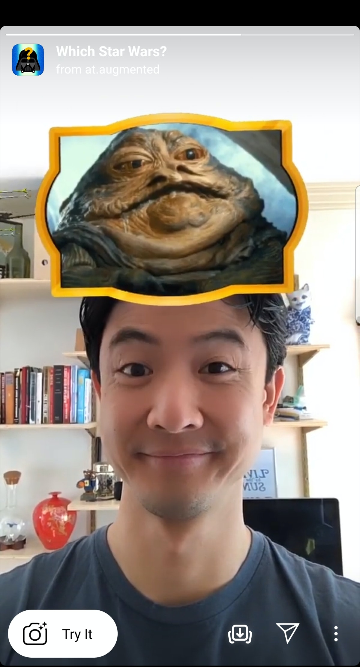"""Here's how to get the """"Star Wars"""" Instagram Story Filter from the creator."""