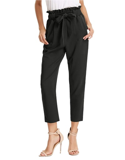 GRACE KARIN Women's Cropped Pants with Pockets