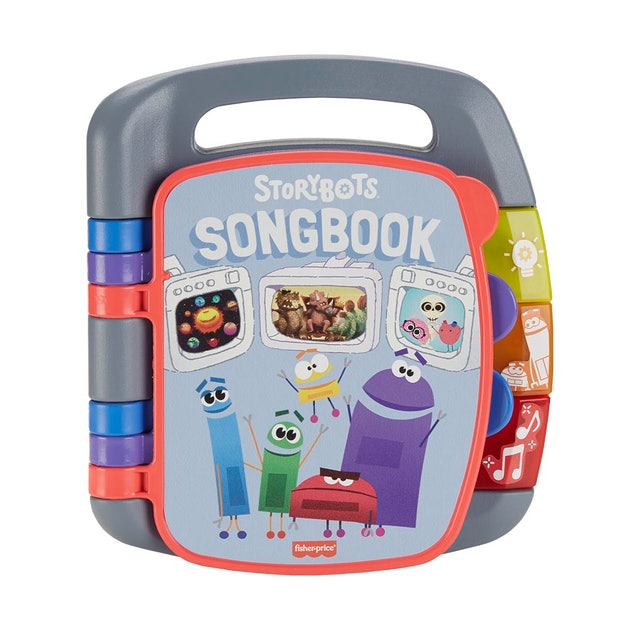 Five new 'StoryBots' toys will hit shelves in fall 2020, including the 'StoryBots' Songbook.