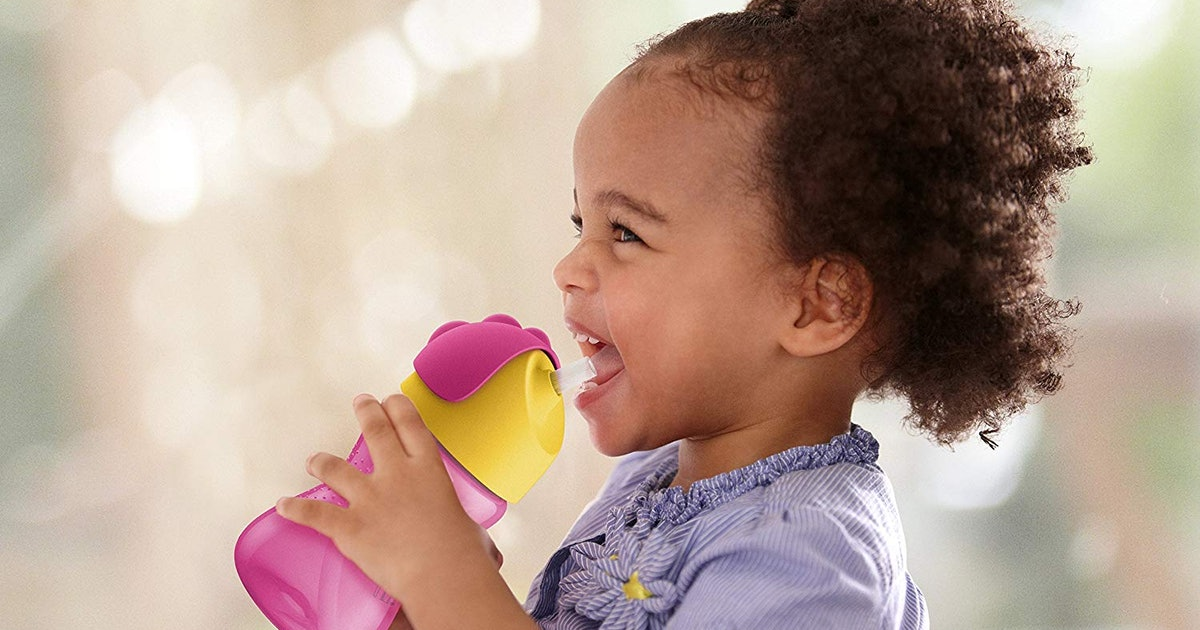 These Sippy Cups With Straws Are The Perfect Segue From Bottles — & Lead To Fewer Messes