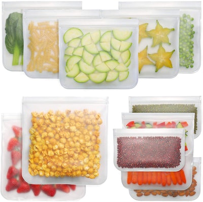 Bayco Reusable Storage Bags (12-Pack)