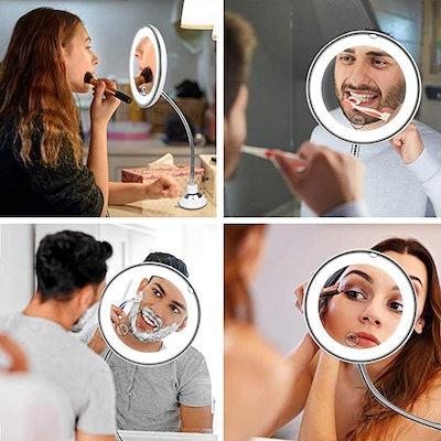 mixigoo Magnifying Makeup Mirror