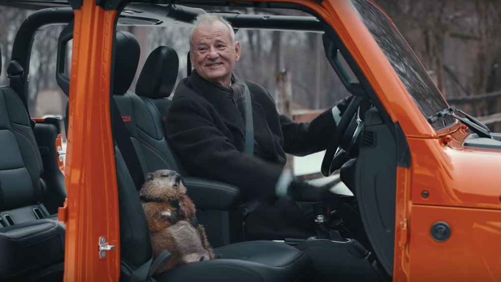 Bill Murray's 'Groundhog Day' Super Bowl Commercial is a nostalgic delight.