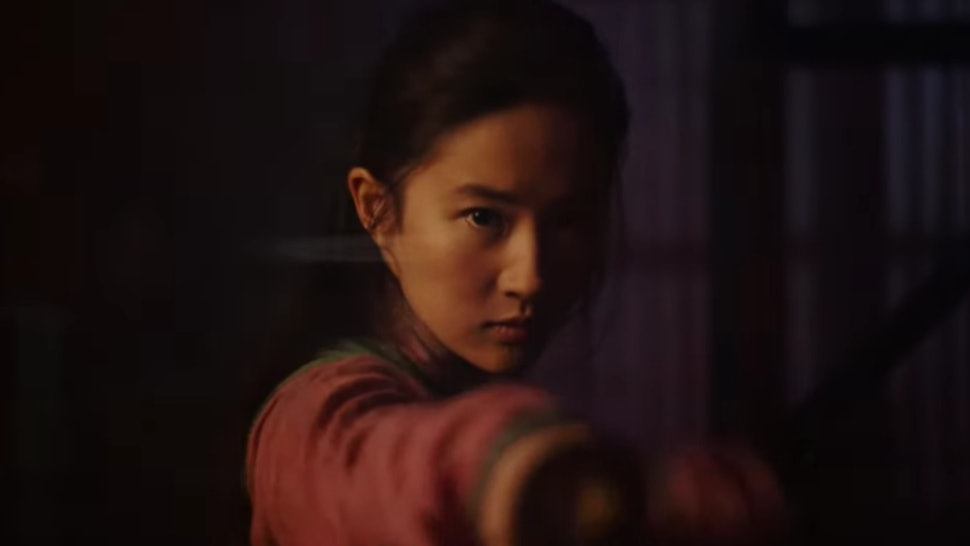 A still from the new Mulan trailer that aired during the 2020 Super Bowl.