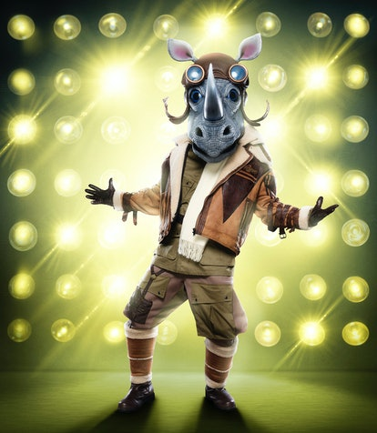 The rhino costume from Masked Singer Season 3