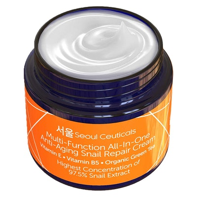 Korean Skin Care Snail Repair Cream by SeoulCeauticals