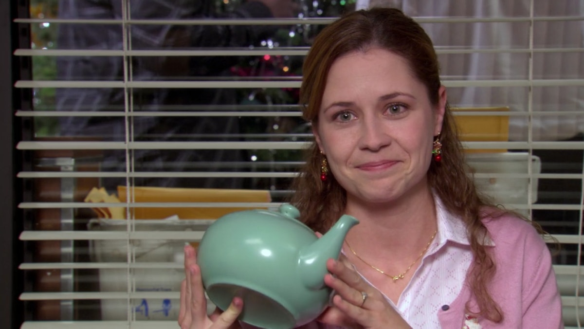 Jenna Fischer revealed what Jim's teapot note for Pam on The Office said