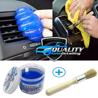 For Ideahome Car Cleaning Gel and Cleaner Brush